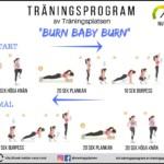 Träningsprogram gå ner i vikt, viktnedgång