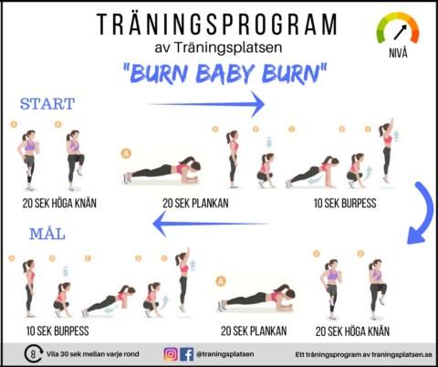Träningsprogram gå ner i vikt