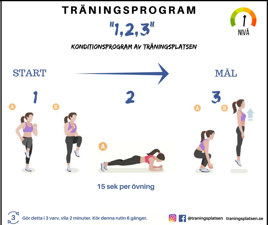 träningsprogram för viktnedgång
