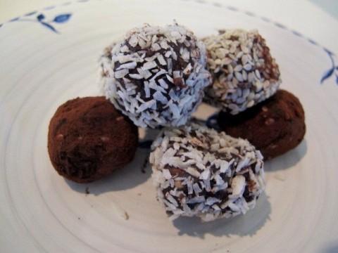 Recept raw food bollar