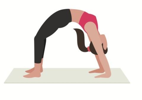 Stå i brygga – Yoga position