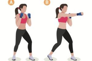 träningsövning slag, en superövning för dina armar