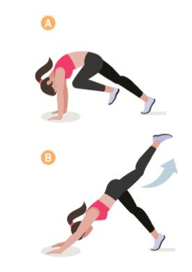 yogaövning stående hunden