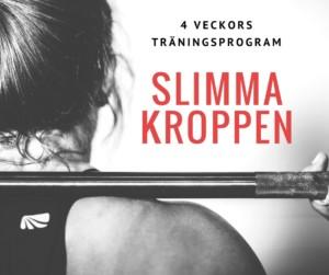Träningsprogram som slimmar kroppen