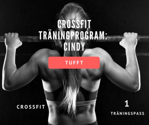 Crossfit program hemma – Cindy