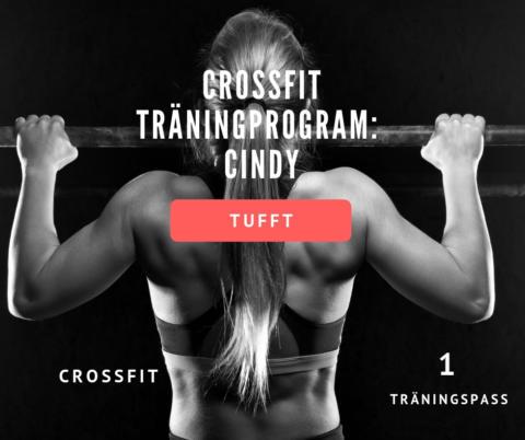 Crossfit program hemma – Cindy