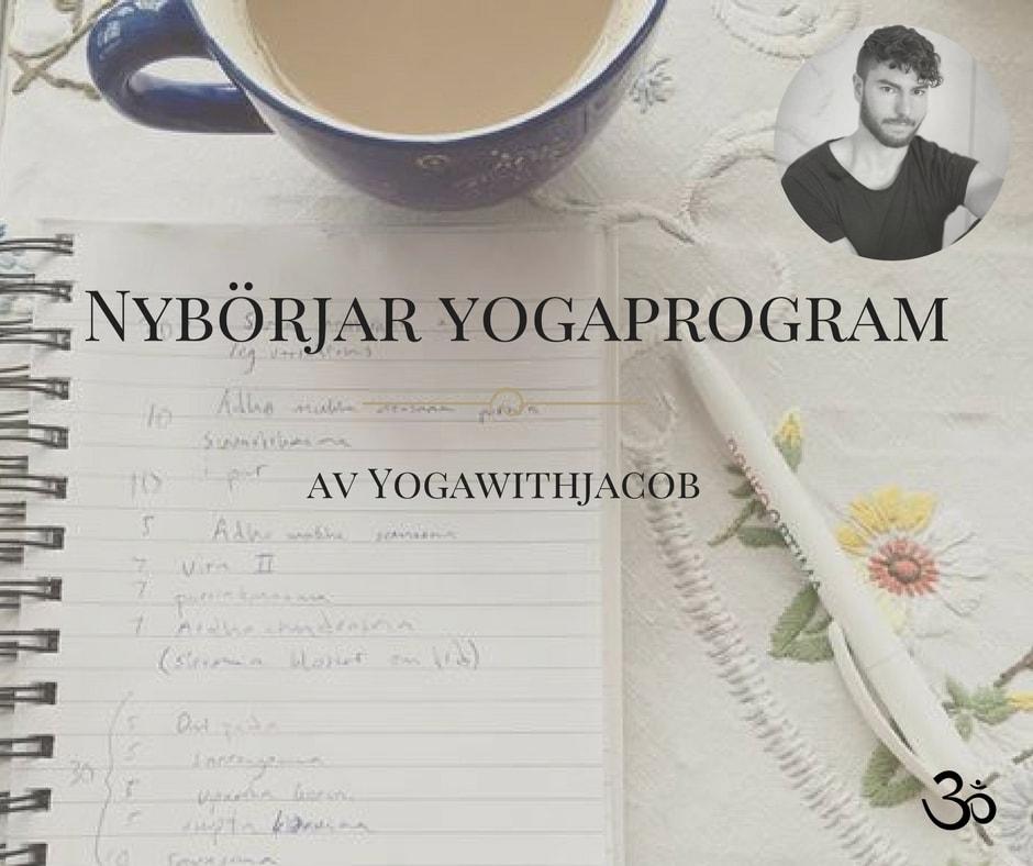 yoga för nybörjare, yogaprogram, yogapass, yogarutin